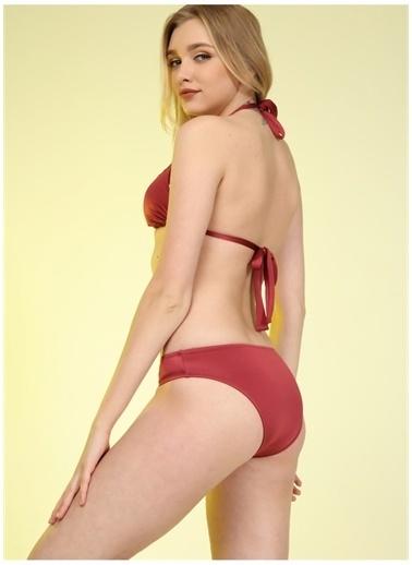 Bellisa Bellisa Bordo Bikini Takım Bordo